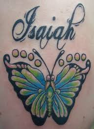 butterfly tattoo with baby footprint 28 butterfly footprints tattoos ideas