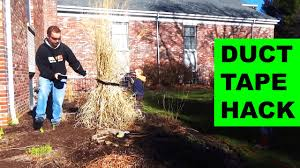 how to trim pas grass with duct