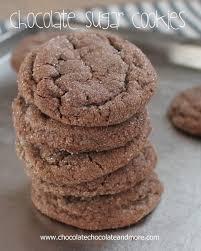 chocolate sugar cookies chocolate chocolate and more