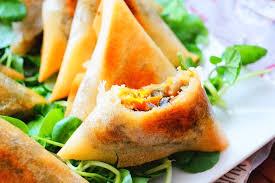 cuisine marocaine brick briouates aux légumes sans viande au four aux delices du palais