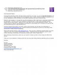 college student cover letter for internship sample cover letter