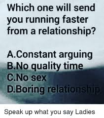 Lack Of Sex Meme - which one will send you running faster from a relationship
