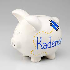 customized piggy bank baby personalized piggy bank didimescortilan info
