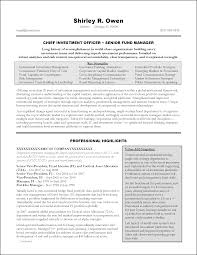 Banking Resume Template Free 11 Fund Manager Resume Sample Resume Template Info