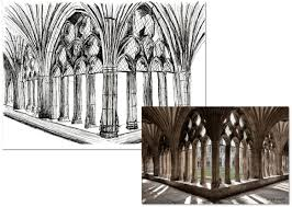 canterbury cathedral floor plan an afternoon sketch anita brown 3d visualisation
