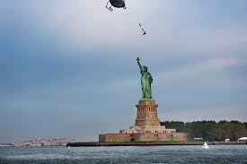 27 Meters In Feet 75 Foot Dive Into The Waters Of Statue Of Liberty