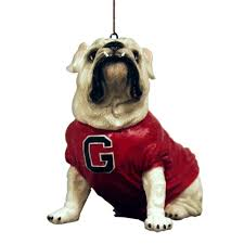 ncaa bulldogs uga iv mascot ornament sports