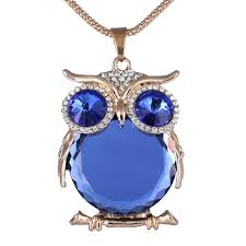 crystal owl necklace images Choker necklace gothic black crystal jpg