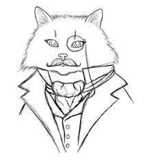 how to paint a dapper victorian cat in adobe photoshop
