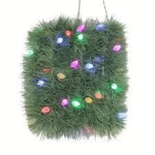 Garland With Lights Buy Martha Stewart Living 18 Ft Artificial Roping Garland With 50