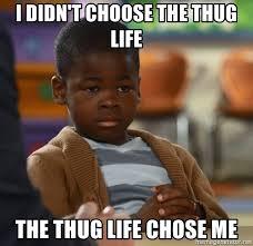 Thug Life Memes - i didnt choose the thug life meme generator mne vse pohuj