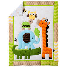 Jungle Nursery Bedding Sets by Circo Inspired Animal Nursery Art Canvas Set Midwood Design