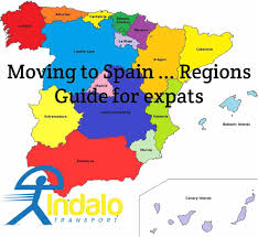 Andalucia Spain Map by Moving To Spain An Expat Guide To The Regions Of Spain Indalo