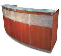 Tuohy Reception Desk Chemetal 423 Swirled Copper Chemetal Com Chemetal Installations