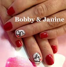 valentine nail art nails by jeannie jackson the nail station glen
