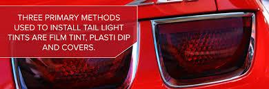 Plasti Dip Smoke Tail Lights Tail Light Tint Tail Light Tint Kits