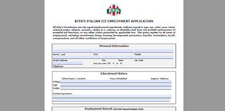 rita u0027s job application adobe pdf apply online