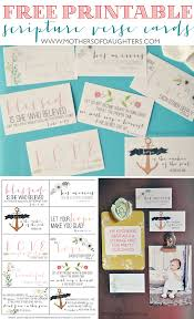 Wedding Bible Verses For Invitation Cards Best 25 Scripture Cards Ideas On Pinterest Free Printable