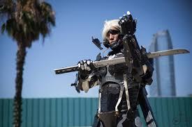 motorized halloween props raiden cosplay w motorized face shield metal gear rising