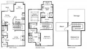 brilliant 3 story house floor plans on design decorating for home