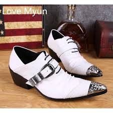 wedding shoes mens white pointed toe mens genuine leather wedding shoes men oxfords