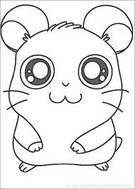 dessin de hamster a imprimer gratuit