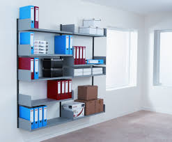 Office Wall Organization System by Wall Mounted Shelving Wallmounted Shelving Systems You Can Diy