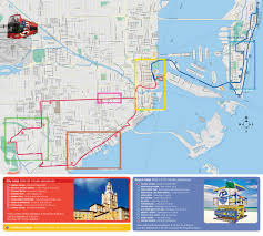 University Of Miami Map City Maps Stadskartor Och Turistkartor Thailand Usa Travel Portal