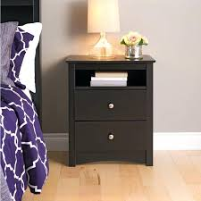 Cherry Nightstand With Drawers Tall Bedside Tables With Drawers Cherry Nightstand Under Tall