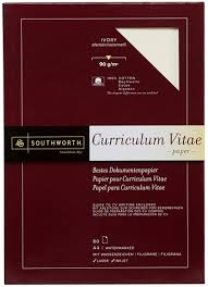Office Depot Resume Paper Southworth Resume Paper 12 Southworth A4 Ivory Curriculum Vitae Cv