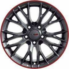 corvette zo6 rims aly5736 chevrolet corvette z06 wheel black stripe 23347213