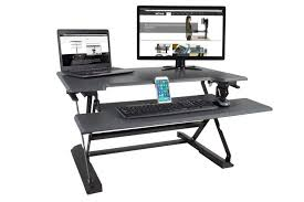 desk saver organization system a less expansive alternative to stand up desks the varidesk with