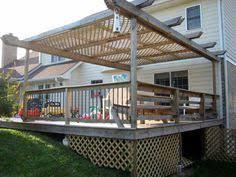 storage under deck ideas lattice surround allows for under