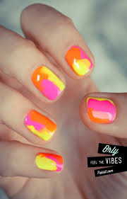 neon yellow black floral acrylic nails youtube 70 trendy neon