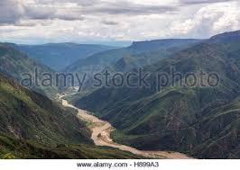 Rugged Landscape Rugged Landscape Of Chicamocha Canyon Near Bucaramanga In