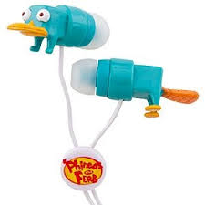 perry the platypus ear buds want disney