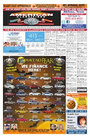 american classifieds abilene 10 27 16 by american classifieds