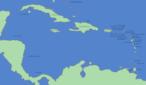 Caribbean Ocean Map by Atlas Of Central America Wikimedia Commons