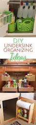 clever ways to organize under your kitchen sink declutter