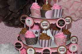 pink and brown baby shower contemporary decoration pink and brown baby shower idea