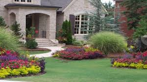 image of house flower garden ideas for front of house youtube