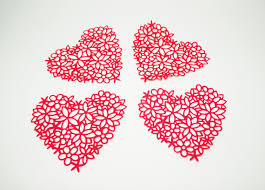 heart doily valentines day paper doilies page two s day wikii