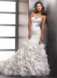 mermaid trumpet wedding dress mermaid sweetheart designer wedding dress with organza ruffles