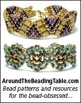 around the beading table links