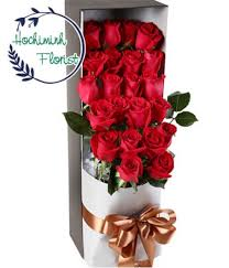 2 dozen roses send 2 dozen roses to ho chi minh ho chi minh florist