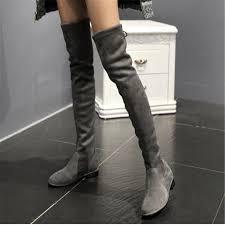 womens boots grey suede aliexpress com buy grey black beige suede boots booties