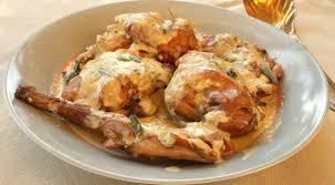 cuisiner le lapin en sauce lapin au gorgonzola les filles à table