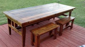 Outdoor Table Design Plans Home Design - Farm table design plans
