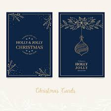 festive christmas card design with greetings vector premium download