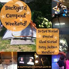 backyard camping ideas for kids part 29 backyard birthday